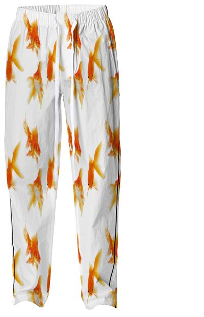 goldfish pajama bottom