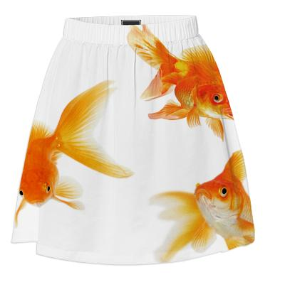 goldfish summer skirt