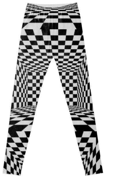 Checked Fancy Leggings