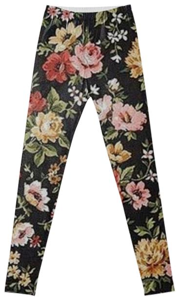 Fancy Floral Leggings