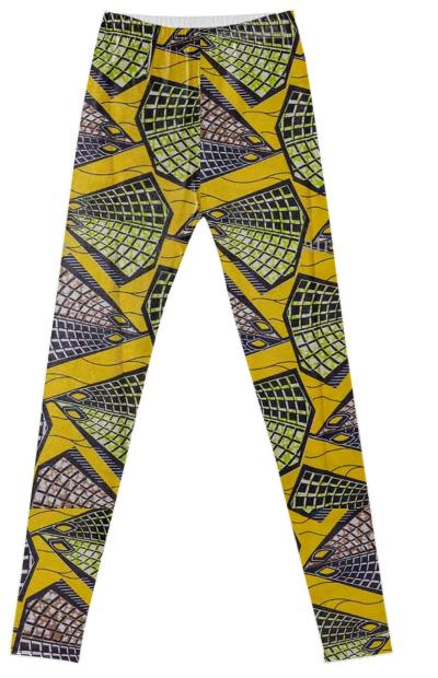 Kente Fancy Leggings