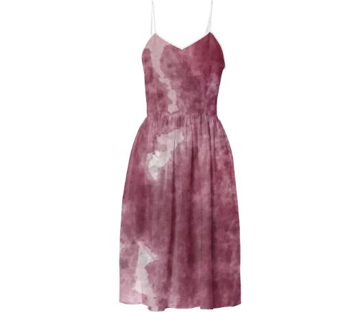 Watercolor Summer Dress