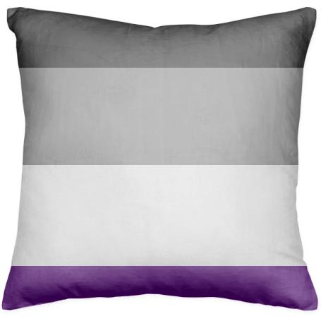 Asexual Pride Pillow