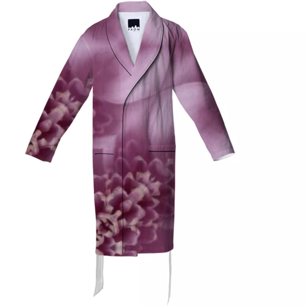 Floral Detail Robe