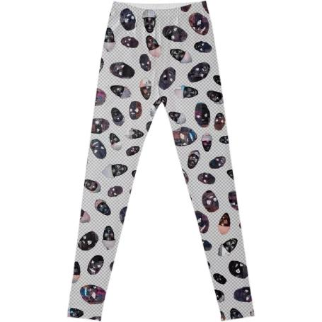 PAOM, Print All Over Me, digital print, design, fashion, style, collaboration, zebrakatz, Leggings, Leggings, Leggings, Masks, autumn winter spring summer, unisex, Spandex, Bottoms