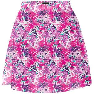 Summer Skirt Burst of Pink