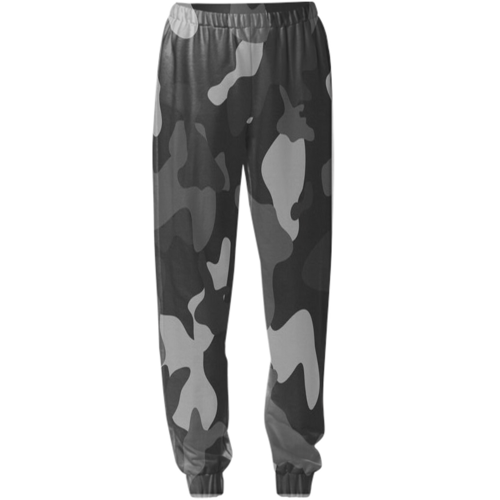 army texture design on sweatpants