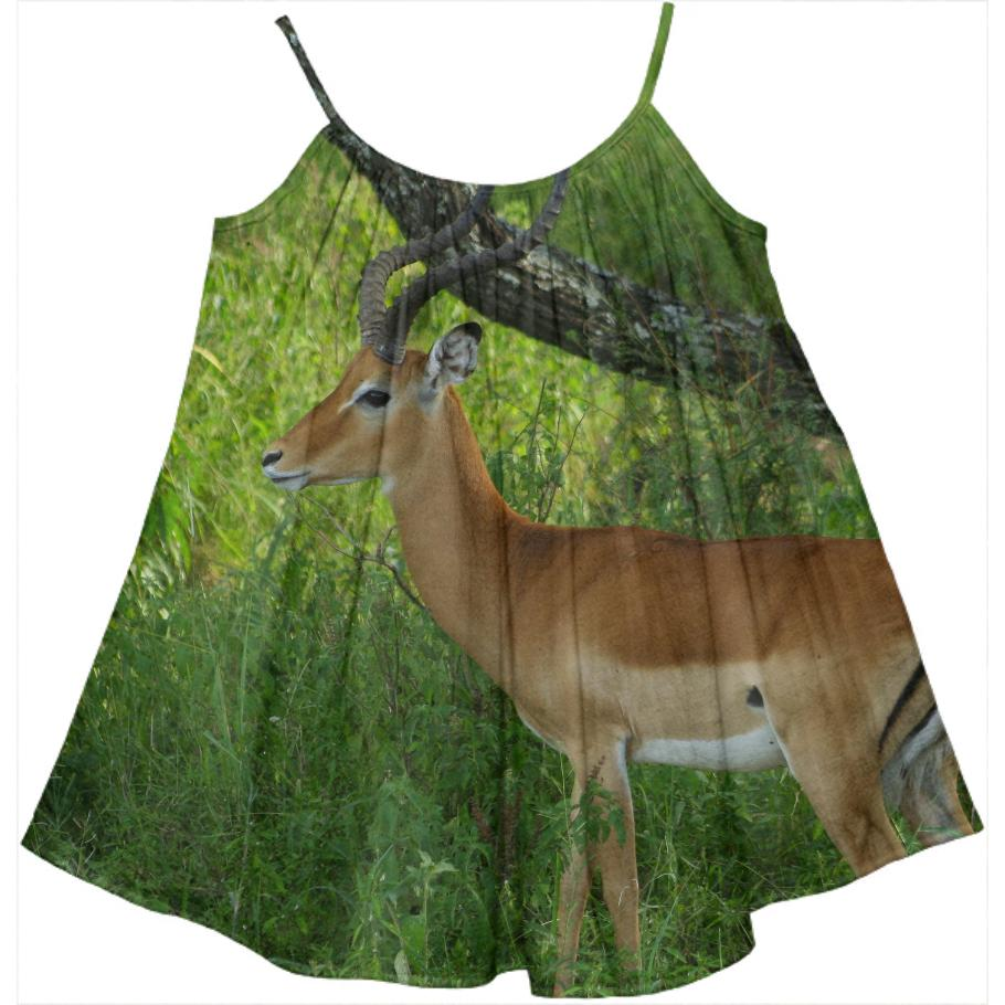 Safari Adventure Gazelle Dress