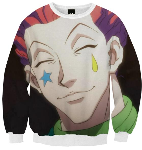 Smiling Hisoka sweater