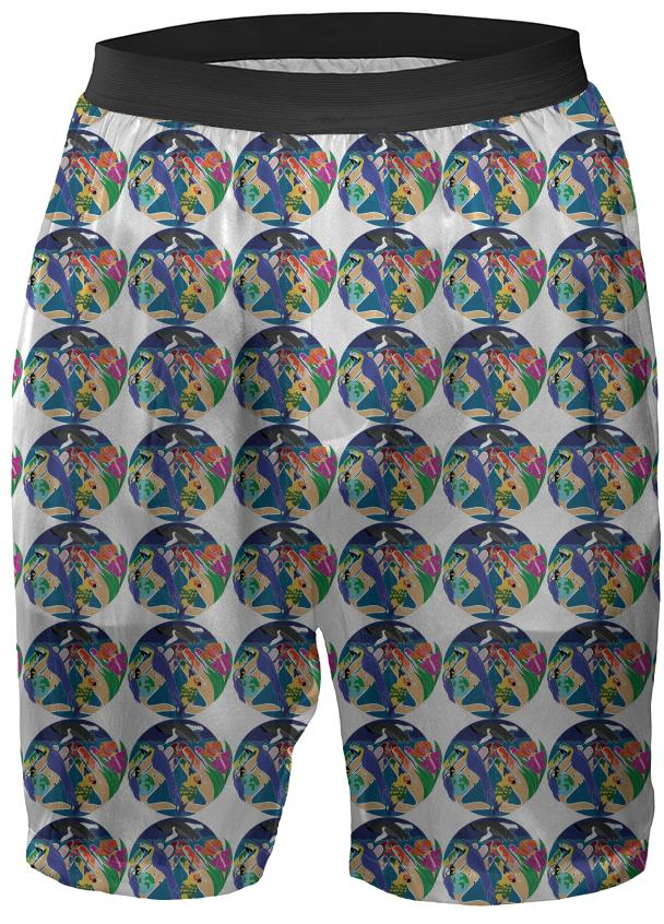 Tropical Creation Silk Boxers