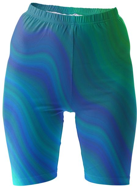 The Wave Bike Shorts