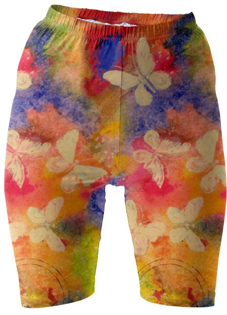 Butterfly Vestige Bike Shorts