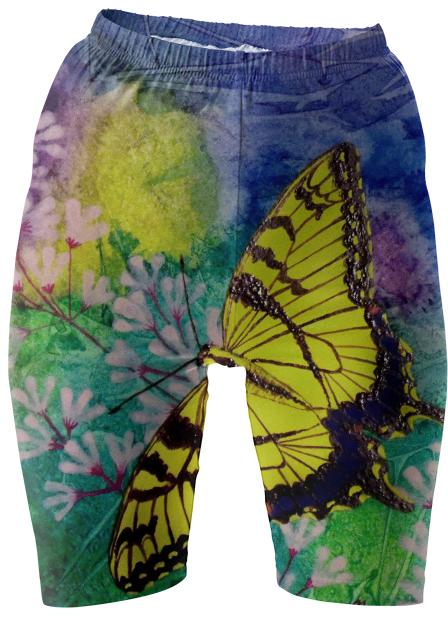 Swallowtail Bike Shorts