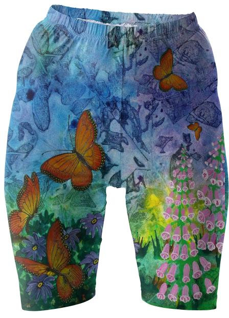 Monarch Haven Bike Shorts
