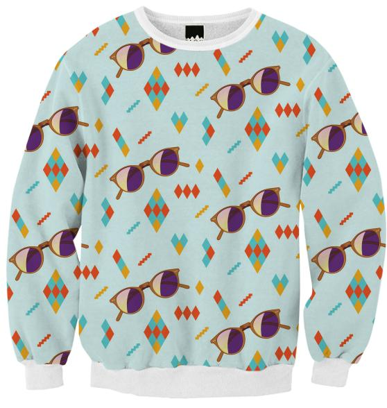 Sunglasses Sweatshirt