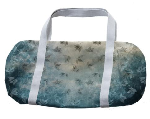 Blue Autumn Duffle Bag