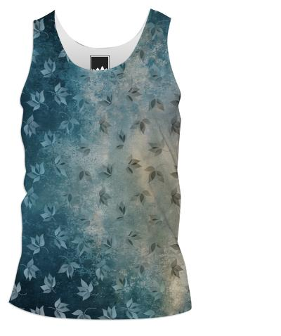 Blue Autumn Tank Top Men