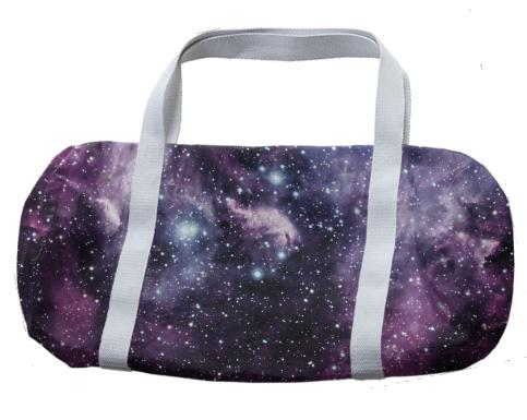 Galaxy and Nebula Duffle Bag