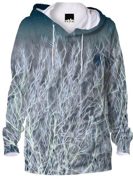 Abstrac Magic Energetic Ice Forest Hoodie
