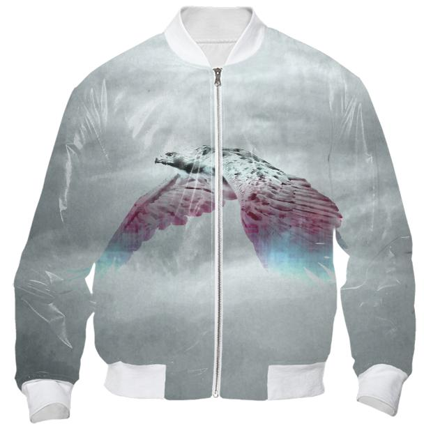 Flying Eagle Evolving Energy Bomber Jacket