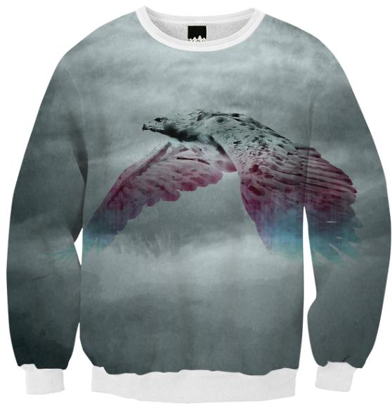 Flying Eagle Evolving Energy Ribbed Sweatshirt
