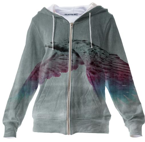 Flying Eagle Evolving Energy Zip Up Hoodie
