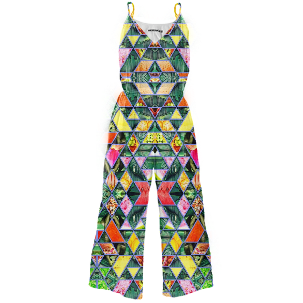 PAOM, Print All Over Me, digital print, design, fashion, style, collaboration, babyboofiji, Tie Waist Jumpsuit, Tie-Waist-Jumpsuit, TieWaistJumpsuit, Taste, Fiji, autumn winter spring summer, unisex, Poly, One Piece