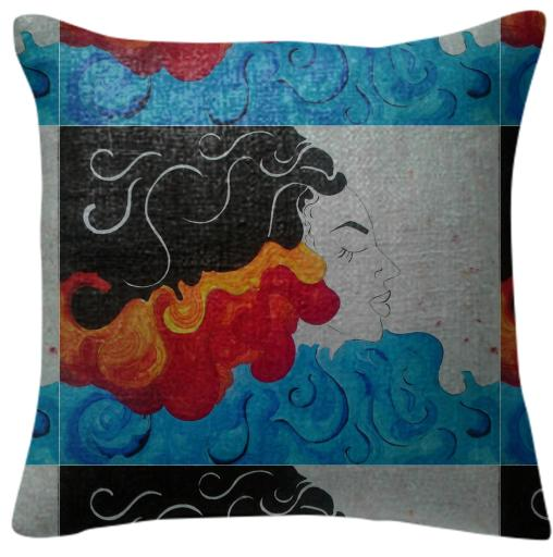 Woman pillow 2