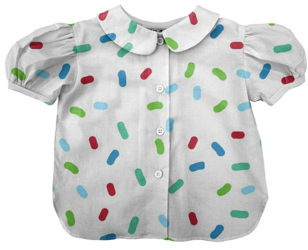 Confetti Summertime kids blouse