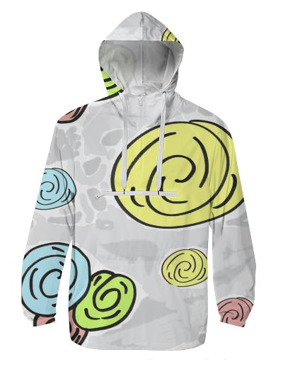 Retro Bouquet Pacific windbreaker
