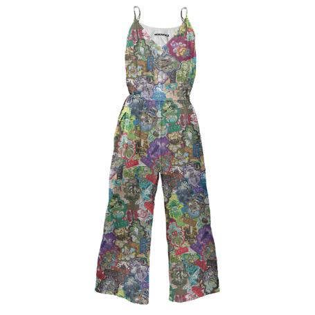 All Over Trees Jumpsuit