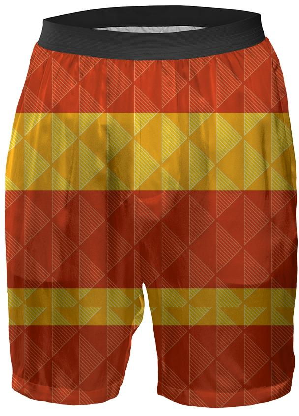 Red and Yellow Geometric