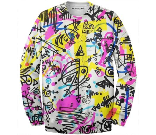 Scribbonacci HQ Cotton Sweatshirt