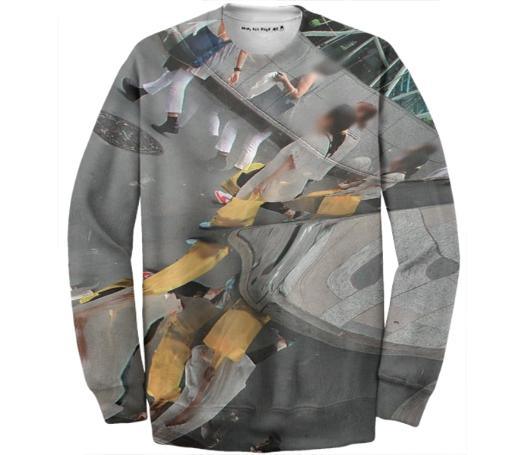 Streetview Glitch Sweatshirt