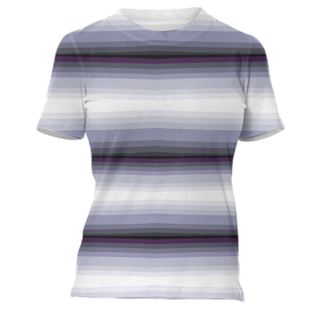 Blue Pen Strip T-Shirt