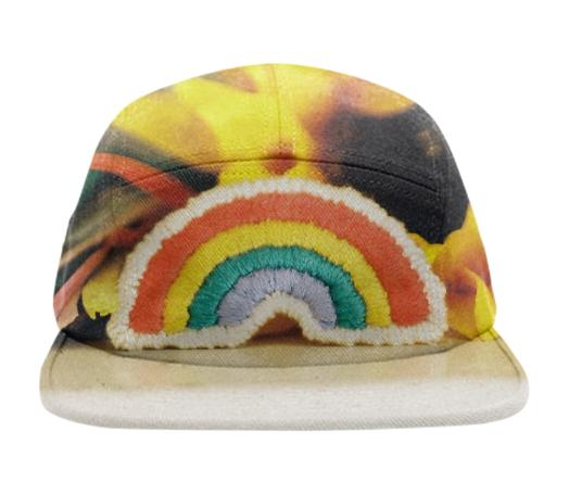 Rainbow Patch Baseball Hat