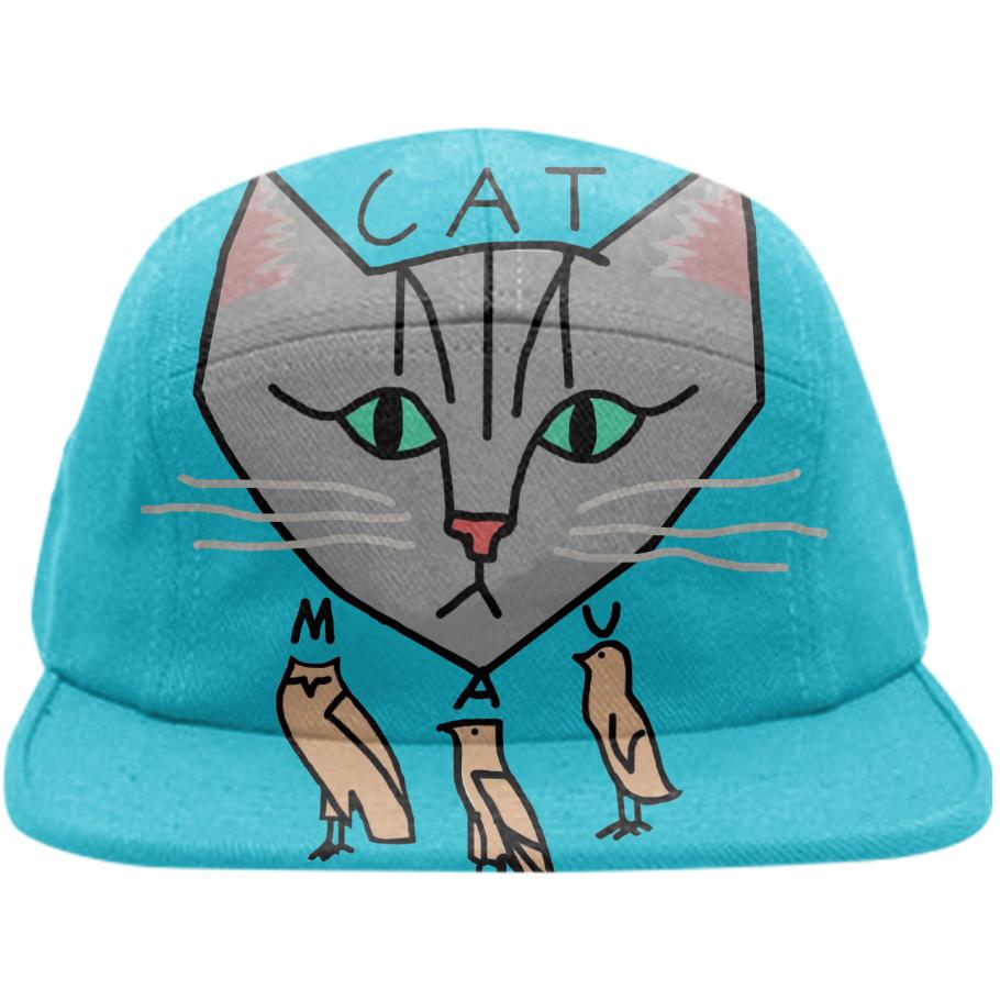 The Cat is Mau Blue Cap