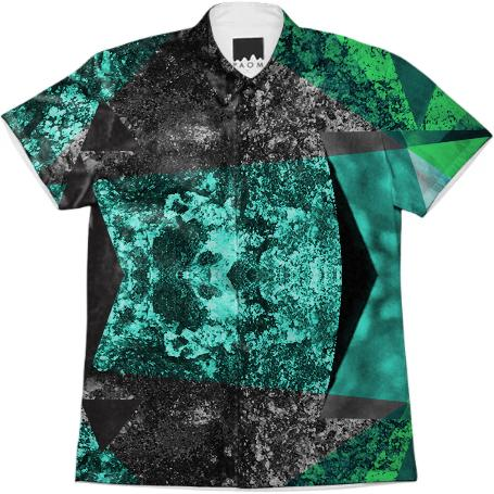 Graphic organic geometric shirt
