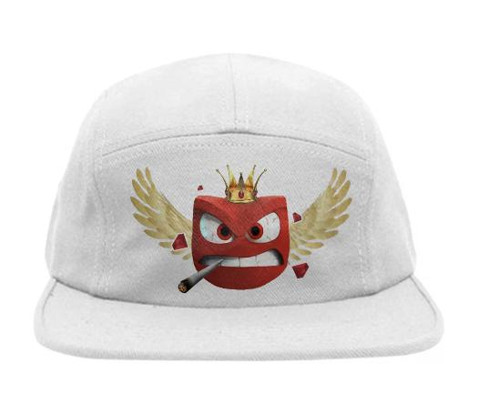 Ruby Red Strong Hat