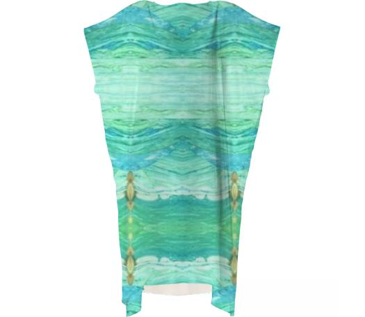 A Sea Green Kaftan