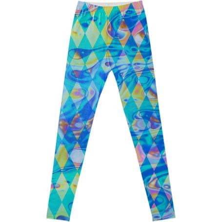 Dope Harlequin Leggings