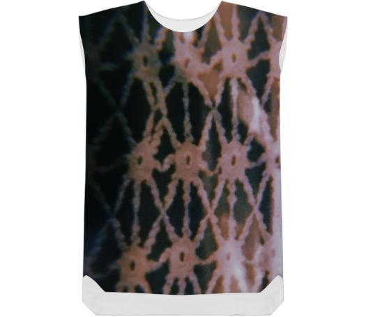 Web Eyes Shift Dress