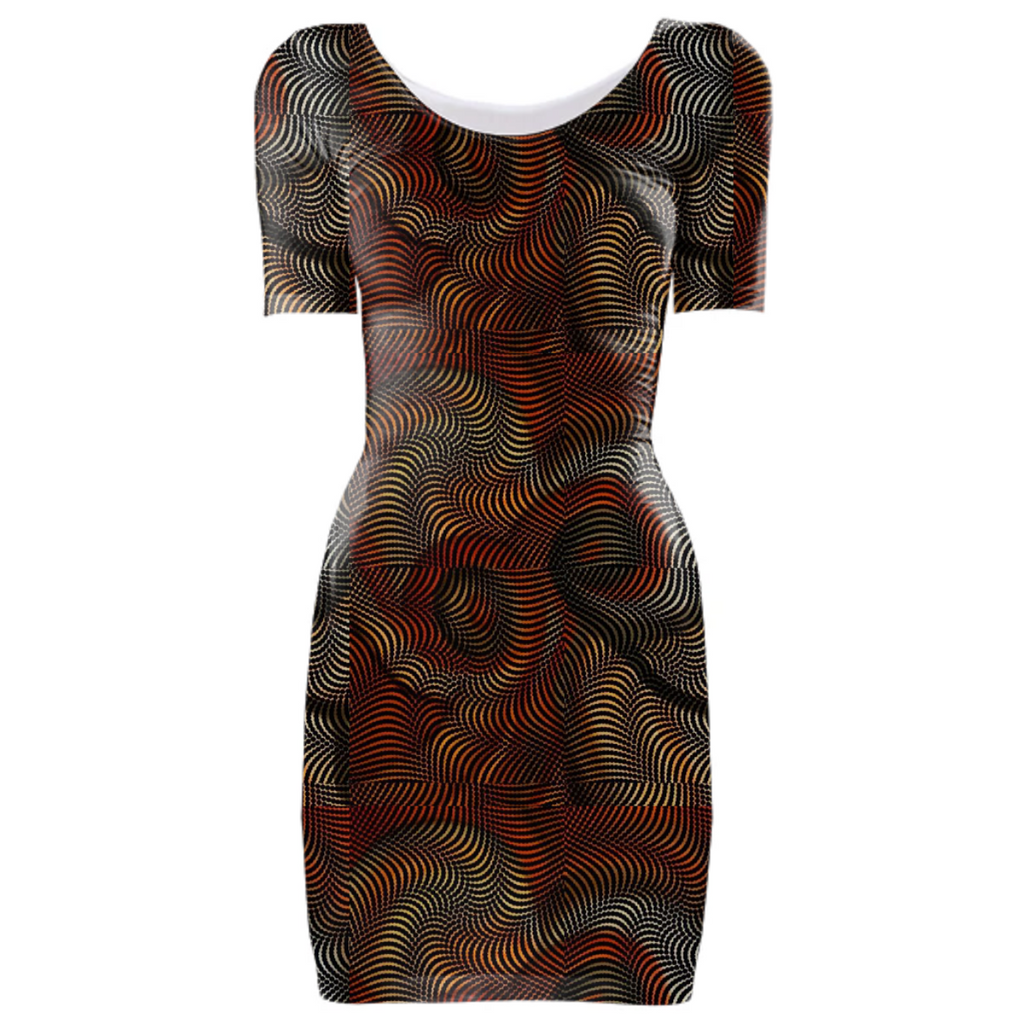 Prairie Maze Bodycon Dress