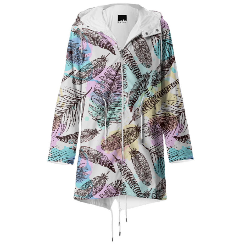 Tribal Pastels Raincoat