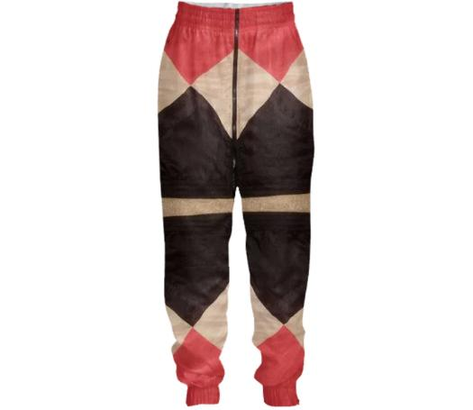 ExtraLayer Double Diamonds Tracksuit Pant