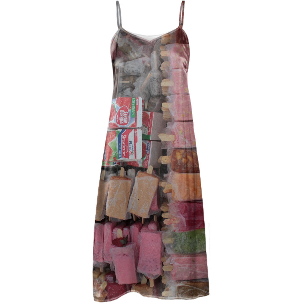 paletas, silk dress no. 1