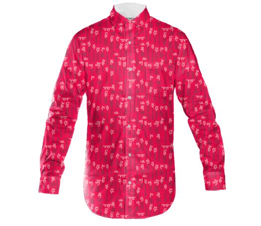 OTTO the long sleeved shirt red