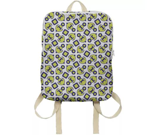The Delia Print Backpack