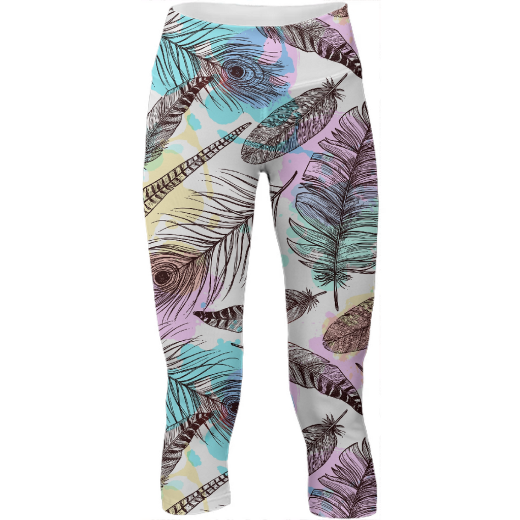 Tribal Pastels Yoga Pants