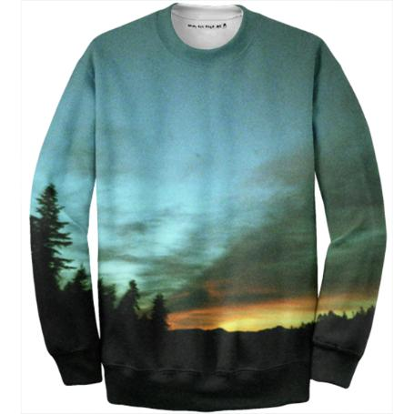 Wyoming Sunset Sweatshirt
